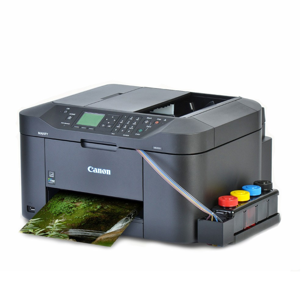 캐논 MB2120 무한잉크복합기 팩스복합기 프린터 잉크젯 복합기, 01_캐논MB2120 무한팩스복합기 1000ML
