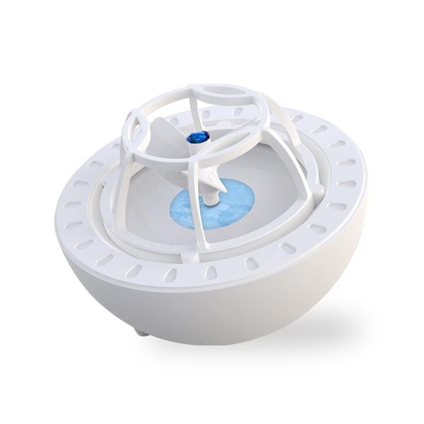 초음파식 미니 휴대용 간단한 usb출력 식기 세척기, 한개옵션1, 푸른