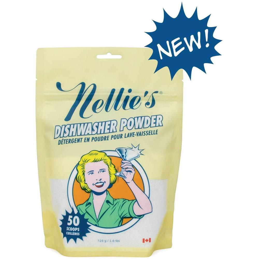 Nellie's 넬리 식기 세척기 세제 파우더 Dishwasher Powder 726g, 1개