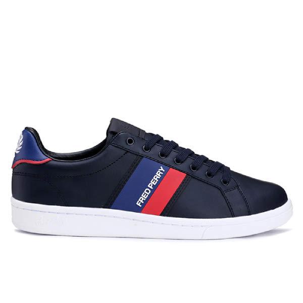[현대백화점]프레드페리 신발 남성 스니커즈 SFPM1937126-248 B721 B721 Two Tone Branding (248)