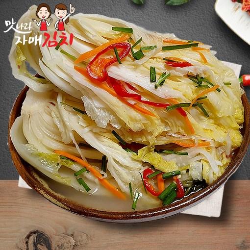 맛나라자매김치 국산 백김치 1kg 배추물김치 3kg 5kg 10kg