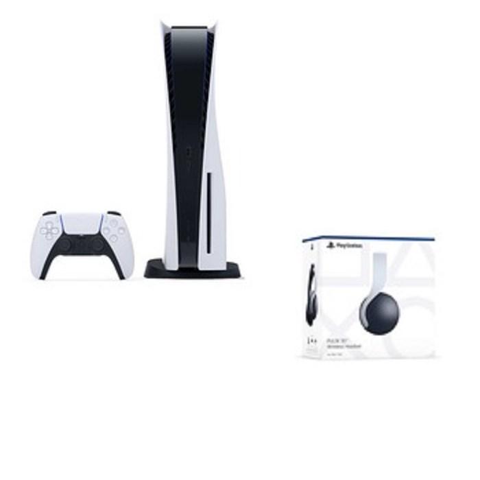 PS5 플레이스테이션5 플스5 디스크에디션 새상품 + PS5 정품 헤드셋 포함