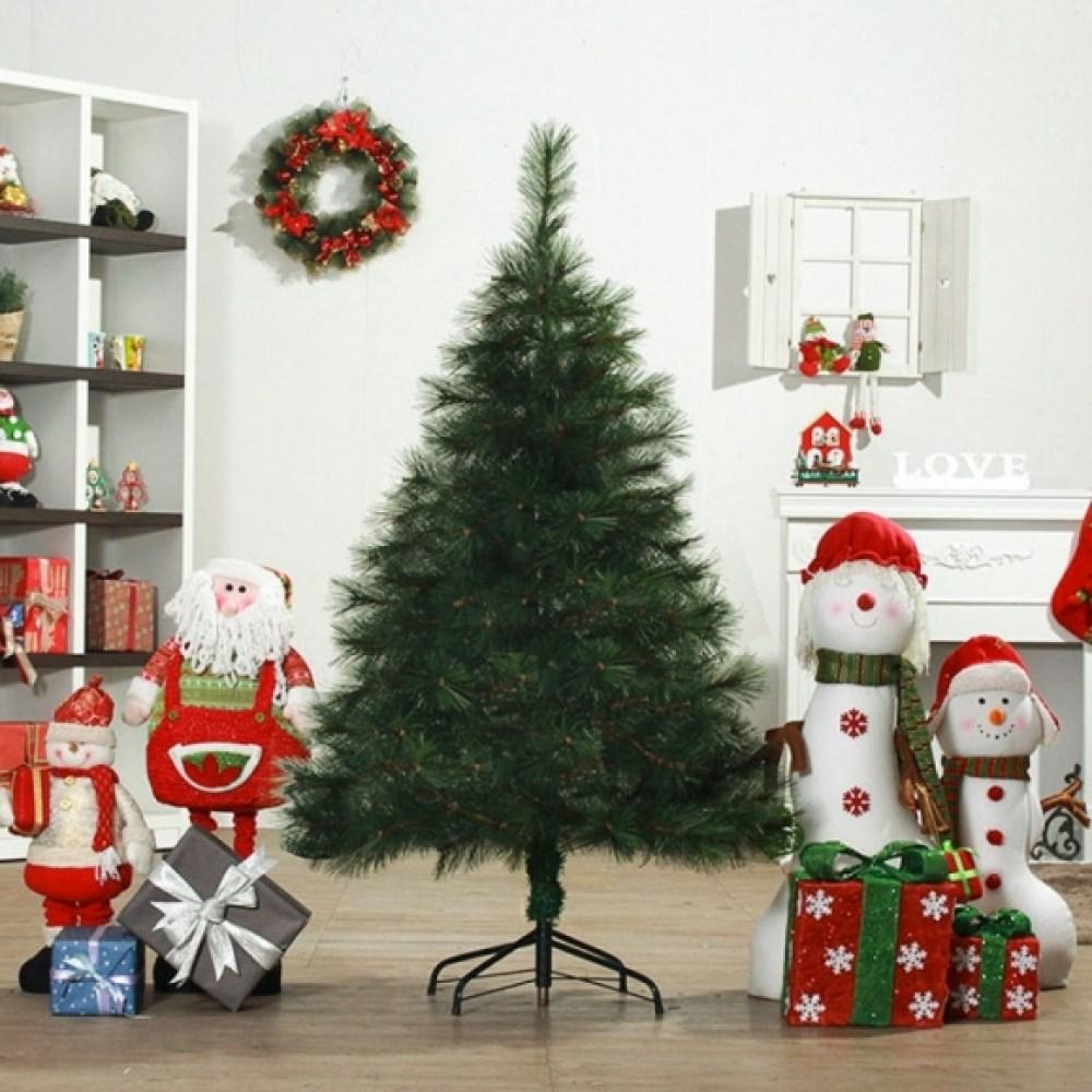 150cm 성탄 크리스마스트리 리얼 솔잎트리 고급트리