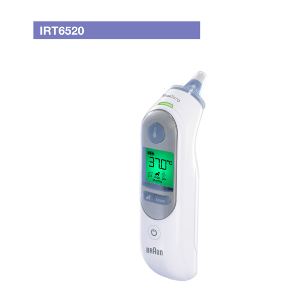 브라운 정품 브라운체온계 IRT-6520, 1개