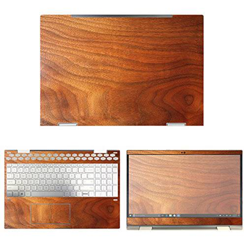 decalrus - Protective Decal Wood Skin Sticker for HP Envy X3/13542874, 상세내용참조