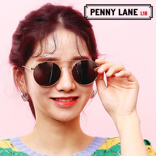 [페니레인] 면세점브랜드 Luna 티타늄 금속테 투브릿지 연예인선글라스 3컬러