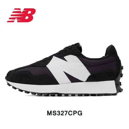뉴발란스 327 블랙화이트 MS327CPG