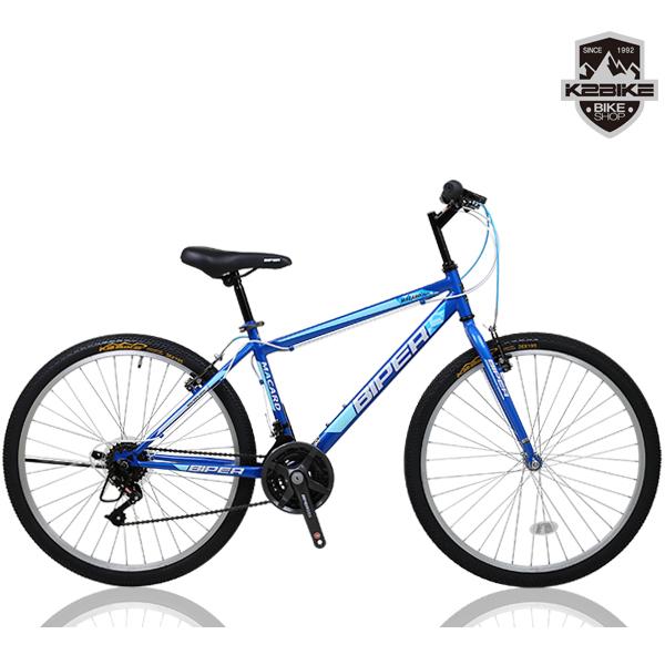 K2BIKE 2020 MTB자전거 메커드26GS 26인치 21단 MTB 자전거, 2020 메커드26GS 블루 미조립