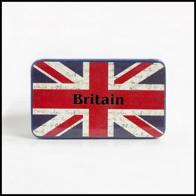 OT 인테리어 감성 홈데코 소품 케이스 보관함 틴박스 영국 장식 거실장식품 빈티지