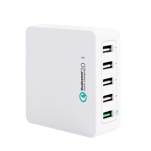 hW추천o38x49az14_NEXT-QC501 USB 5포트 멀티충전 퀵차지2.0/9V고속, 단일 색상