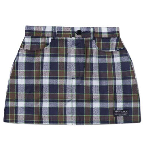MARYJAMES (W) Wintry Skirt - Navy
