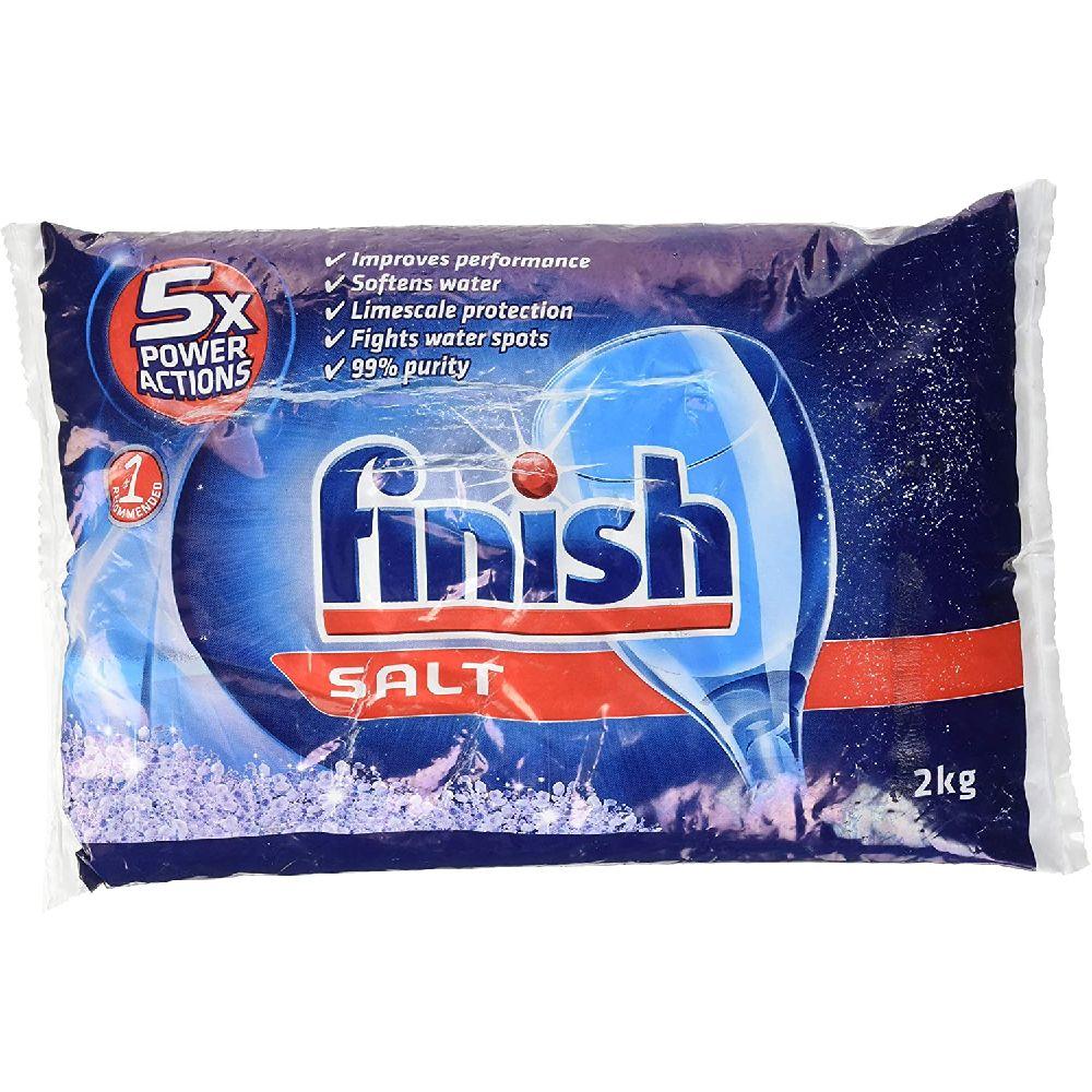 Finish 피니쉬 주방 식기 세척기 소금 2000g, 1
