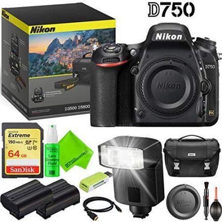 Nikon D750 DSLR Camera (Body Only) Outdoors Kit PROD330005435, 상세 설명 참조0