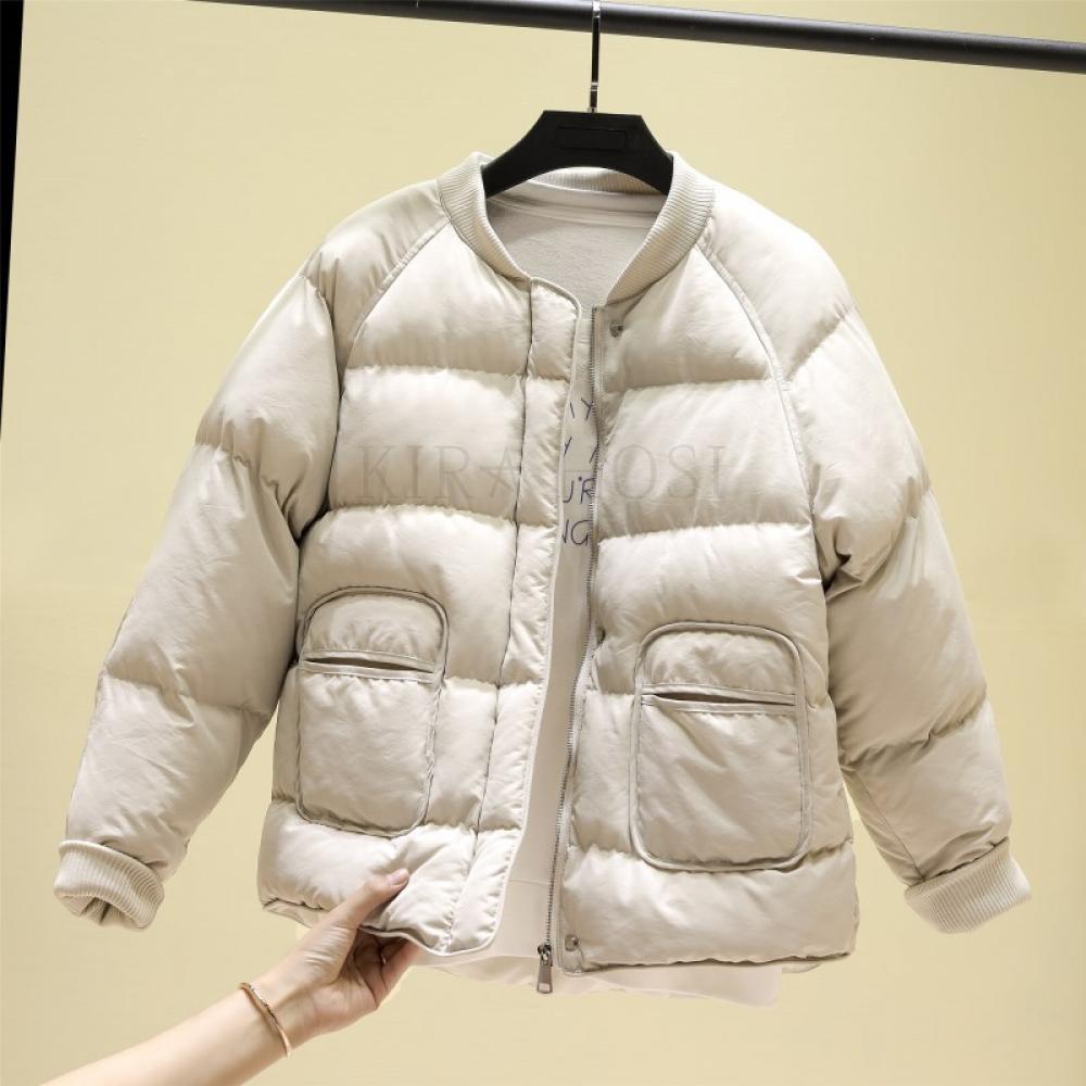 kirahosi 숏패딩 가을 겨울 여성 숏 패딩 점퍼 다운 자켓 아우터 경량 패딩 103-255 DDrd14e5