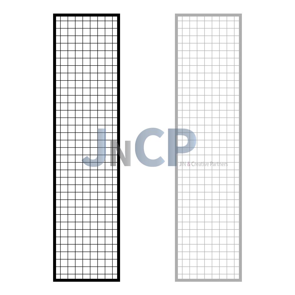 JNCP 휀스망 45x180cm 메쉬망 네트망 철망 악세사리진열대 방묘 후크, 1개
