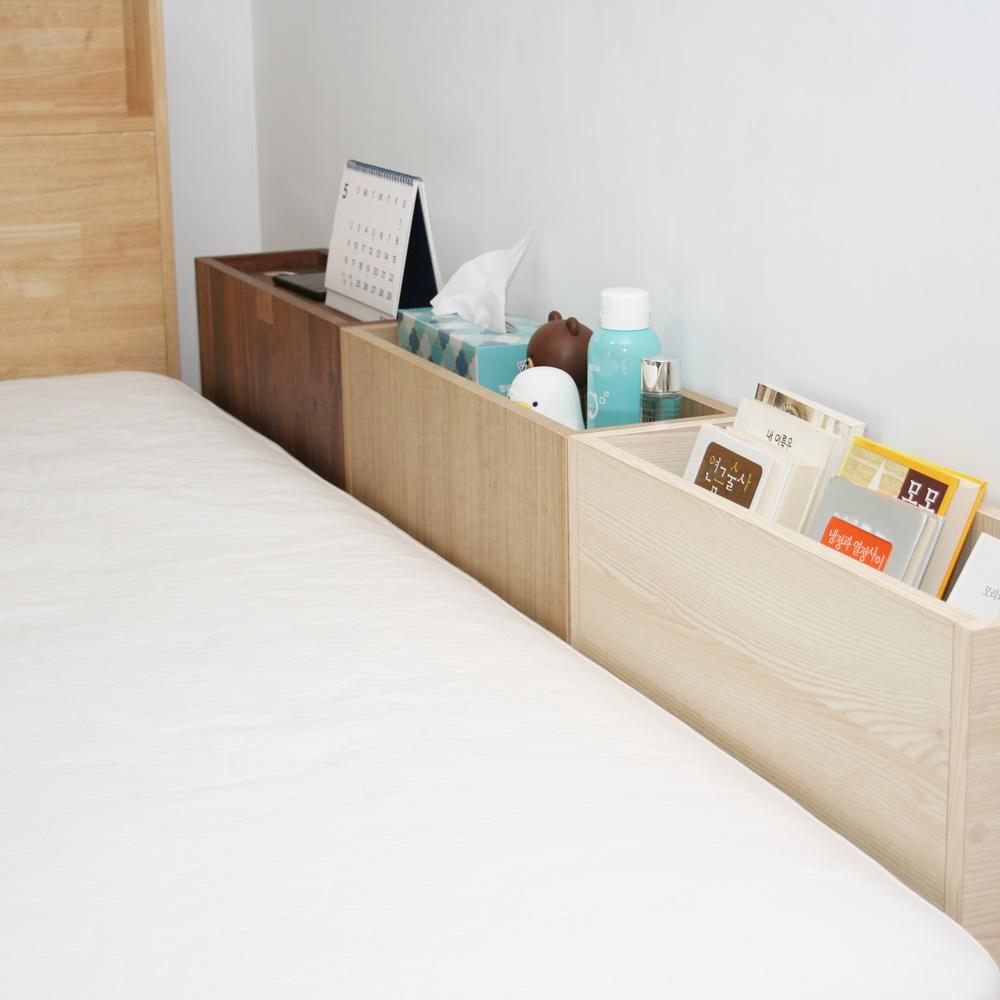 PB침대틈새수납장 침대옆에 끼워만 줘요 사이드테이블, 네추럴