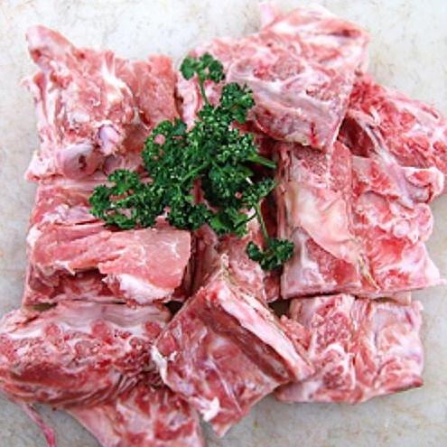 (한돈) 돼지 등뼈 1kg 감자탕뼈 등뼈찜 뼈해장국, 단일상품
