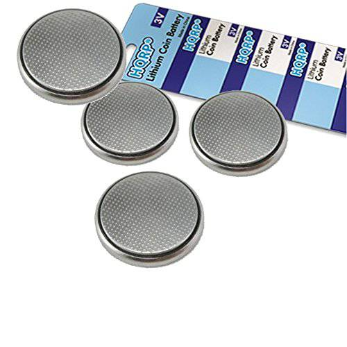 HQRP 4-Pack Coin Lithium Battery for Samsung Smartthings Mul/12487302, 상세내용참조