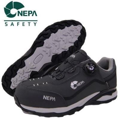 D 안전화 네파 GT-42(Gray) 다이얼 (4인치) 235~290mm 네파안전화 남성 여성 작업화 경량안전화 DO