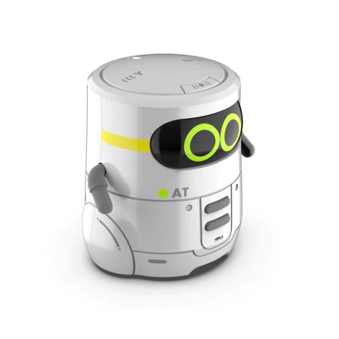 AT 스마트로봇 인공지능 미니게임 노래 댄스 터치 컨트롤 RC로봇, 화이트