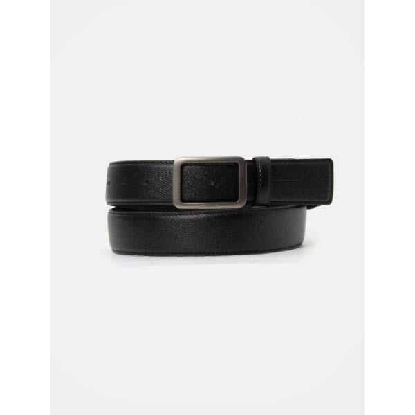 [현대백화점][빈폴ACC] BE0282M115 20SS 부분 엘라스틱 비조 벨트 - Black