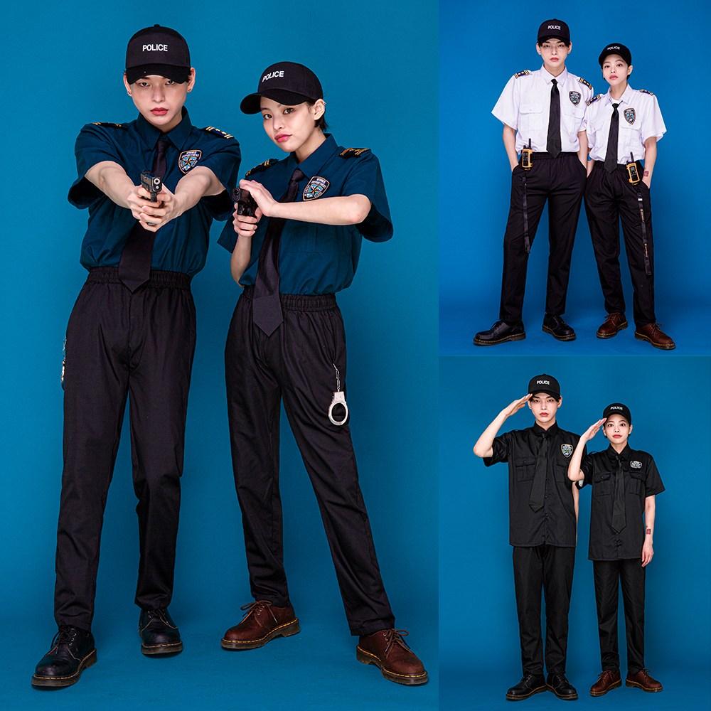반티매니아 경찰 코스프레 졸업사진 컨셉 반티 체육대회 할로윈