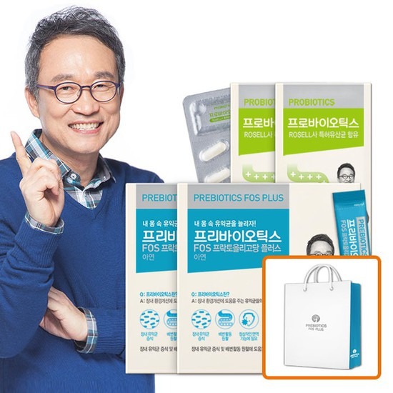 오한진 프리바이오틱스 2개월 + 프로바이오틱스 2개월, 상세설명 참조, 없음