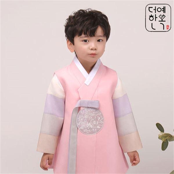 더예한복 QT209 동심민재 남아한복 아동한복