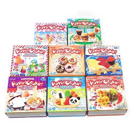 Popin' Cookin Diy Candy Kit (8 Pack Varieties) - Tanoshii Bento Ramen and Waffle Cakes Sushi and, 1