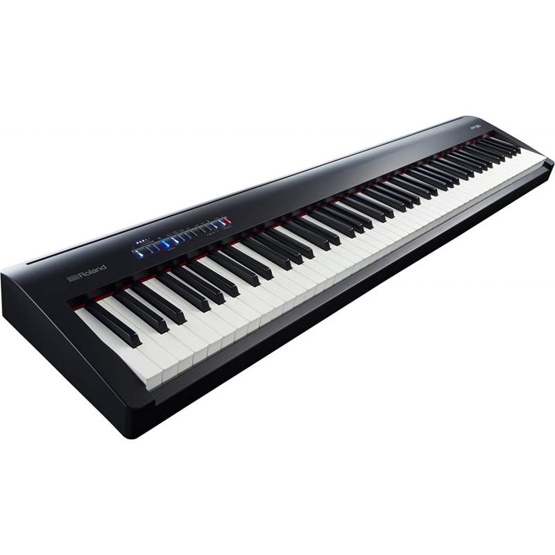 [영국직배송] 롤랜드 FP-30 88 키 디지털 피아노 블랙, 단일옵션, 단일옵션