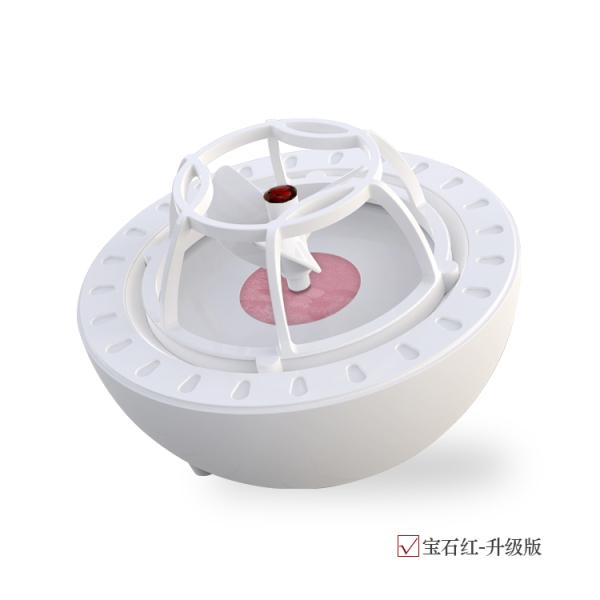초음파식 미니 휴대용 간단한 usb출력 식기 세척기, 한개옵션1, 분홍