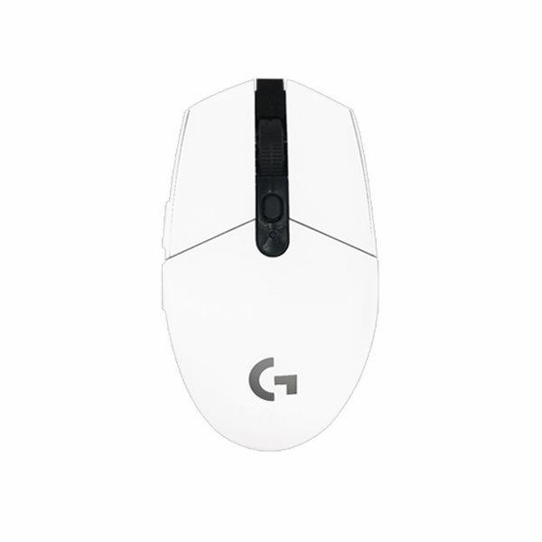 로지텍 G304 LIGHTSPEED 무선 게이밍 마우스 병행, 흰색