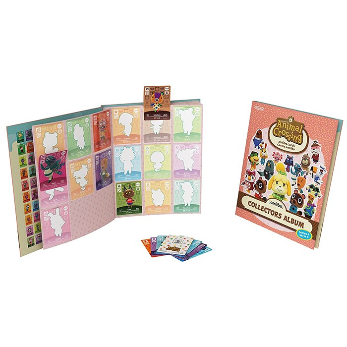 nintendo 모여봐요 동물의숲 모동숲 아미보 카드 보관 앨범 카드북, 1개, 시리즈4