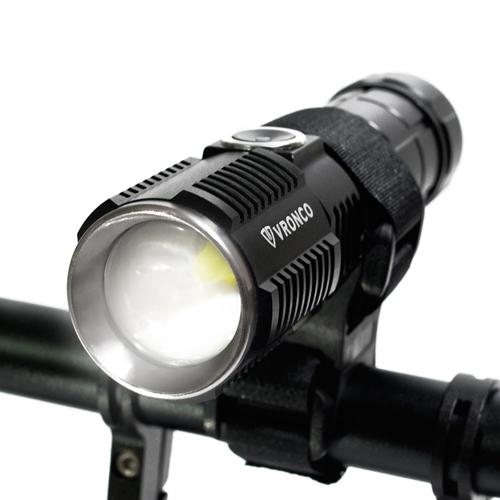 브론코 자전거 라이트 전조등 LED 충전식 XHP50  배터리 없음락브로스 USB 충전식 LED 자전거 라이트  블랙바이크샵