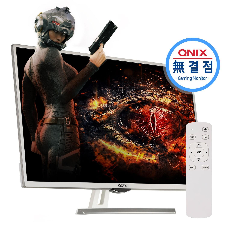 큐닉스 32인치 게이밍모니터 QX3268 REAL 165 NOBLESSE 무결점, QX3268 무결점