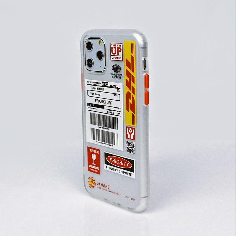 DHL 화이트 팝 아트 디자인 투명 휴대폰 케이스/휴대폰케이스/핸드폰케이스/폰케이스/아이폰케이스/화웨이케이스/케이스/아트/디자인/팝/투