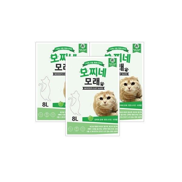 [모찌네모래] 8L 사과향 (1BOX)_무배