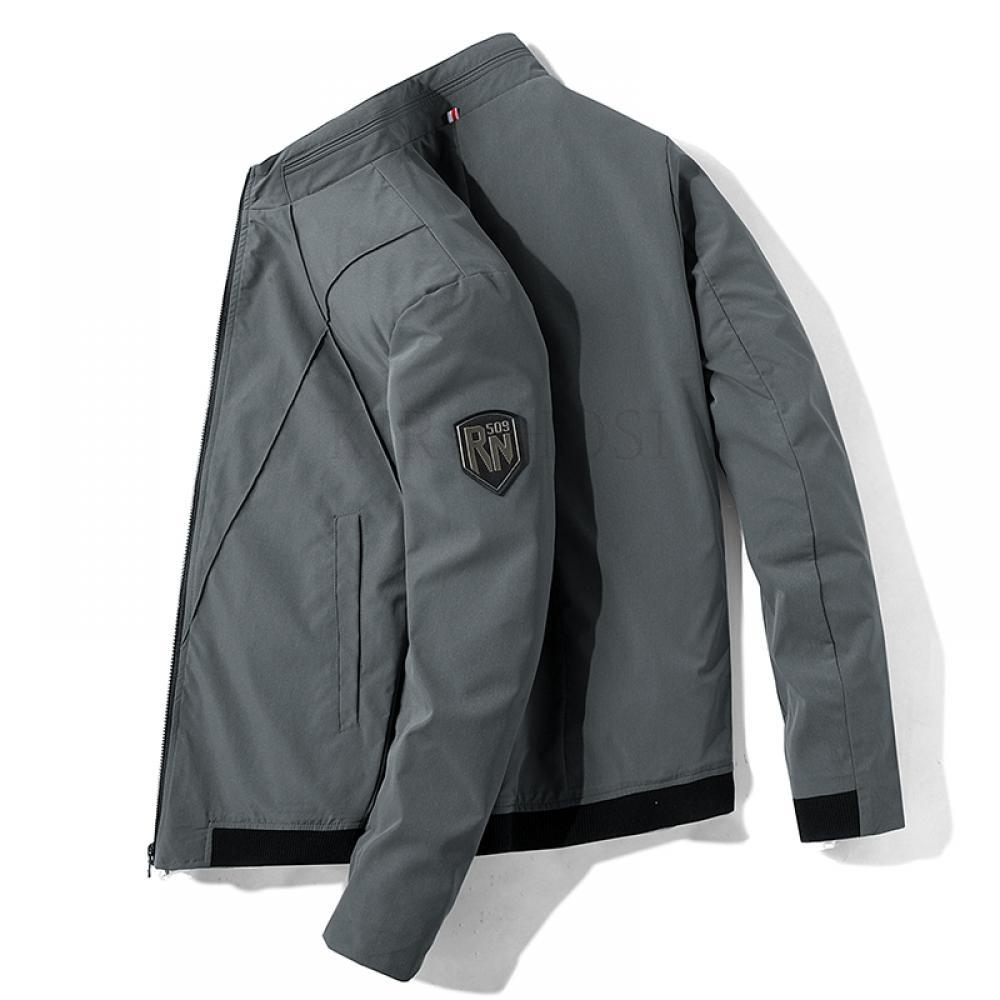 kirahosi 남성 가을 자켓 오버핏 캐주얼 재킷 야상 자켓 V 347 +덧신 증정 BLe3zzeu
