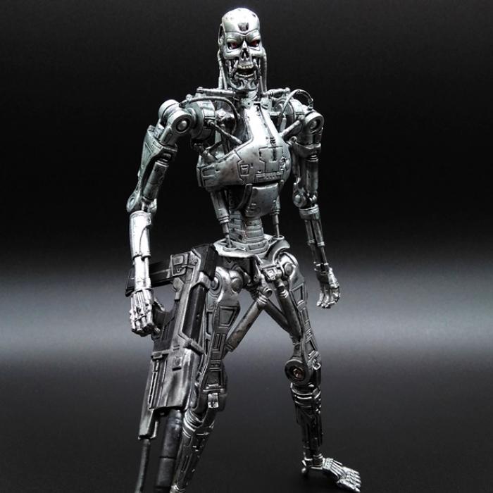 직구인 기계 스켈레톤 로봇 터미네이터 다크페이트 t800