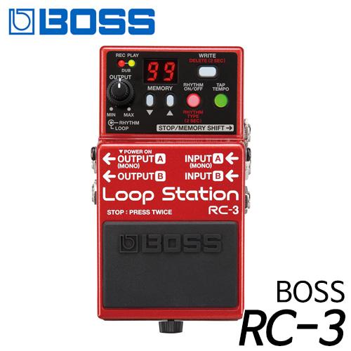 보스(BOSS) 이펙터 루프 스테이션 RC-3 현음악기