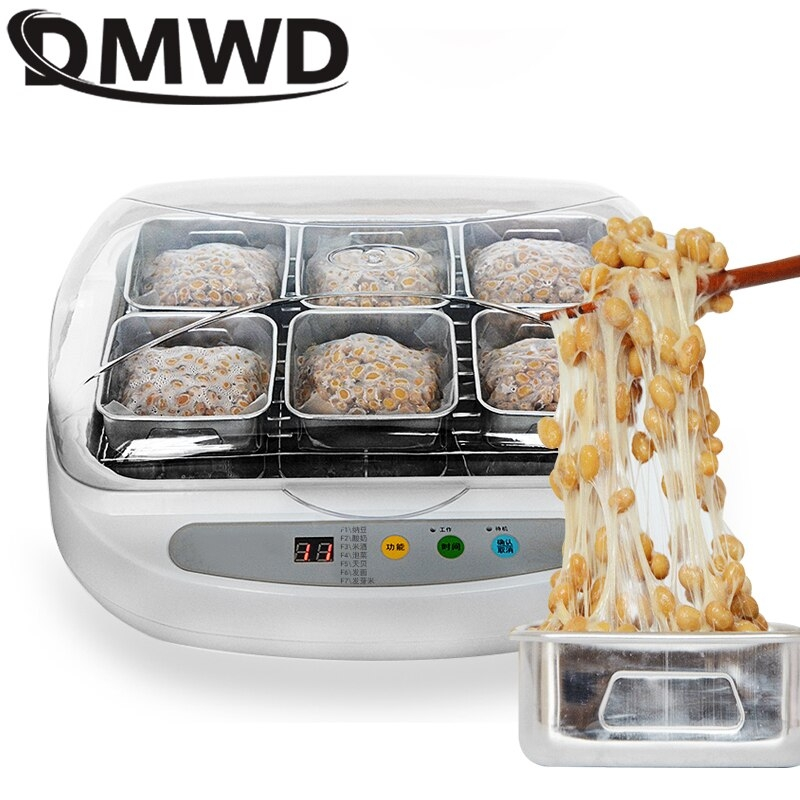요거트 메이커 아이스크림 치즈 철판 요거베리 Dmwd 자동 전기 낫토 스테인레스 스틸