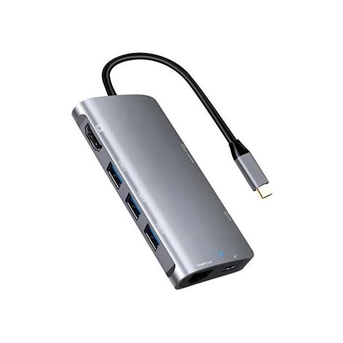 애플어댑터 USB C to HDMI Ethernet Adapter Type C