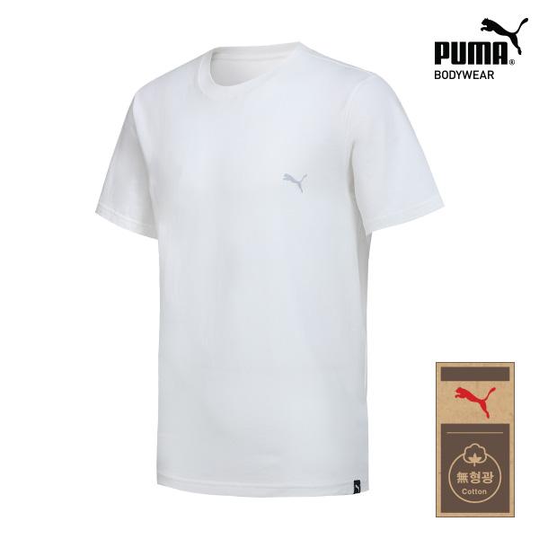 [TOP] 푸마 무형광 코튼 언더셔츠 1종 베이직 화이트