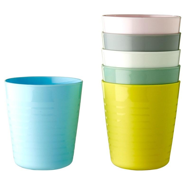 칼라스컵 컵 여러 가지 색상 혼합 색상 KALAS, 기본