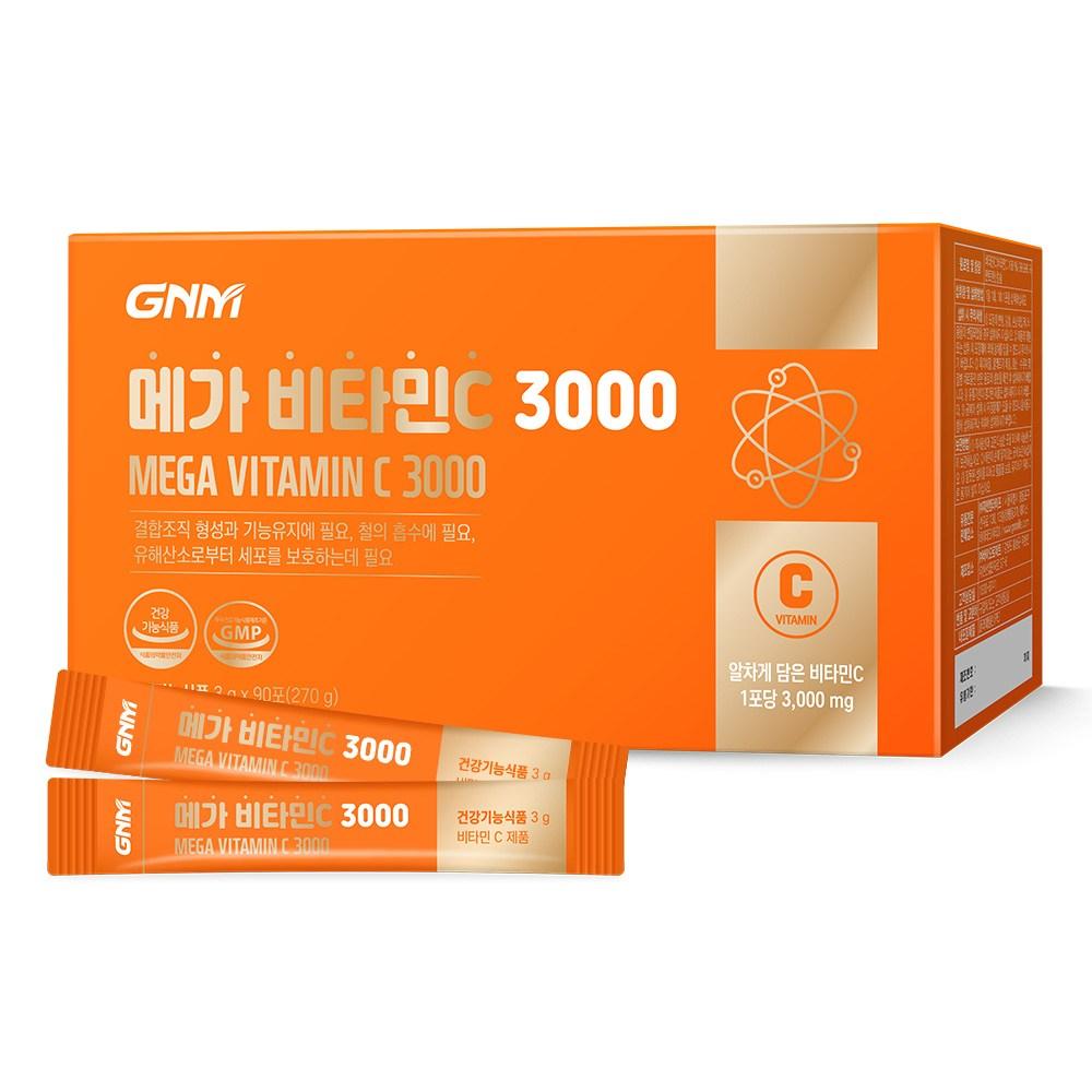 자연의품격 메가 비타민C 3000, 90포