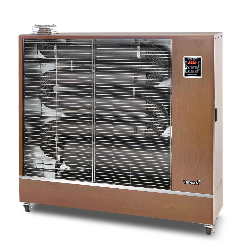 템피아TPA-H21000 업소용 돈풍기 공장 석유 등유 난로 튜브히터 원적외선히터 기름난로, 단일상품