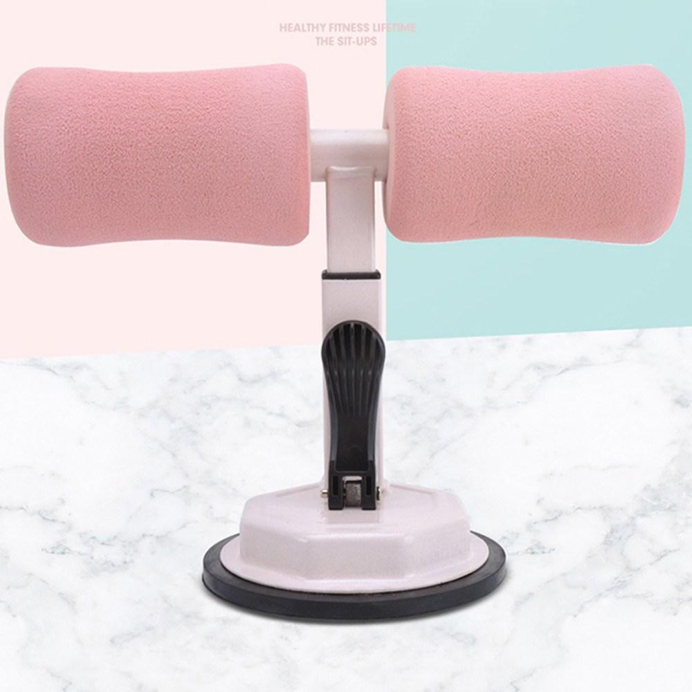 제이와이홀딩스 복근 뱃살 운동 윗몸일으키기 홈트레이닝 기구, 핑크