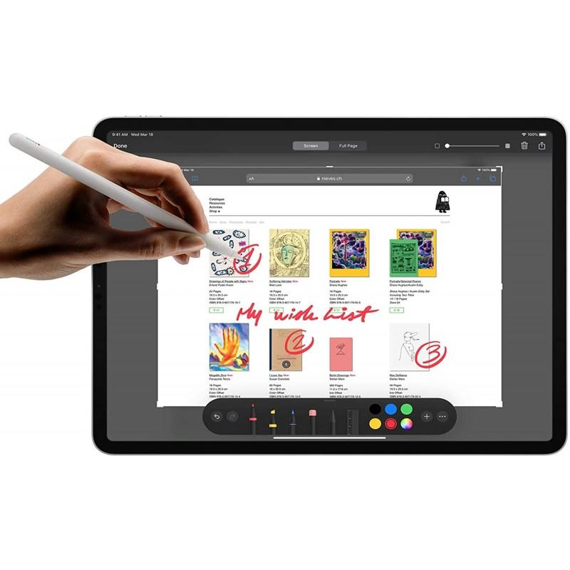 새로운 Apple iPad Pro (12.9 형 Wi-Fi + Cellular 512GB)-스페이스 그레이 (4 세대), 단일옵션