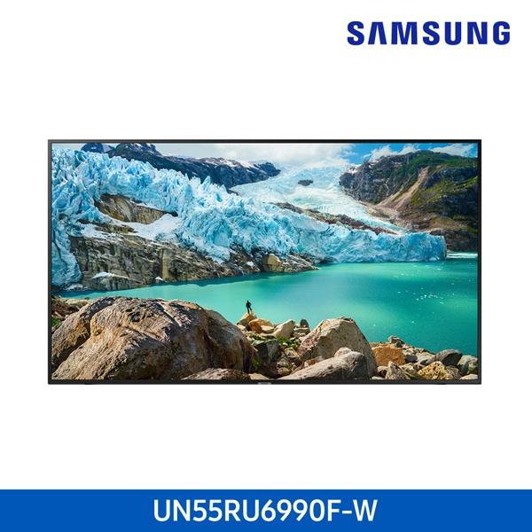라온하우스 [삼성전자] 프리미엄 55인치 스탠드 벽걸이 텔레비전 tv/티브이/4K UHD LED TV/기사무료설치, 벽걸이 UN55RU6990FXKR