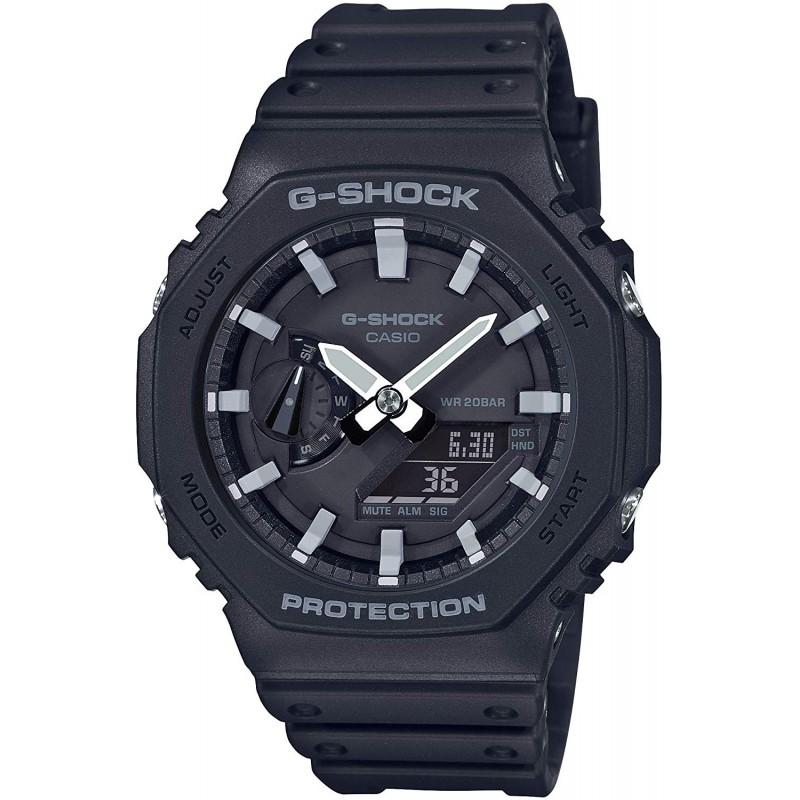 [카시오] 시계 지샥 카본 코어 가드 GA-2100-1AJF 남성 블랙